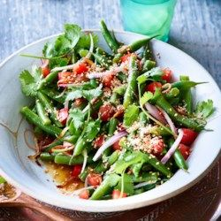Green Bean & Shallot Salad - EatingWell.com
