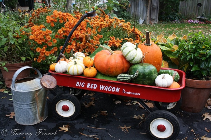 25+ Great Ideas About Fall Wagon Decor On Pinterest