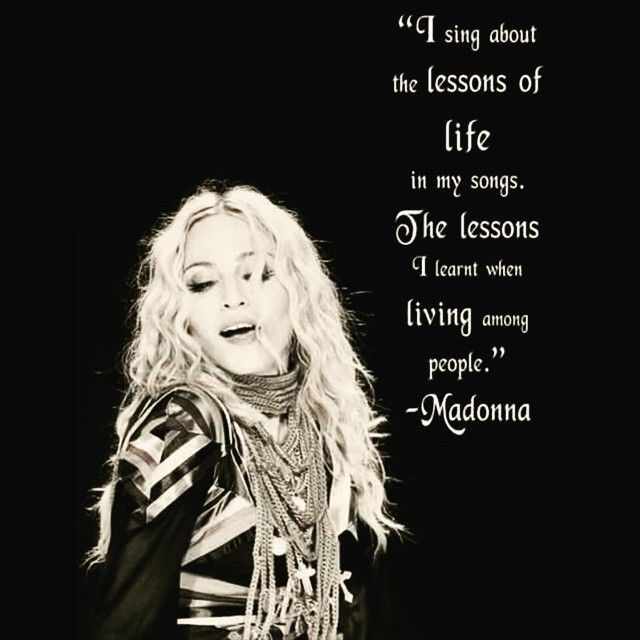 Madonna Inspirational Quotes: 92 Best Images About Queen Of Pop Madonna On Pinterest