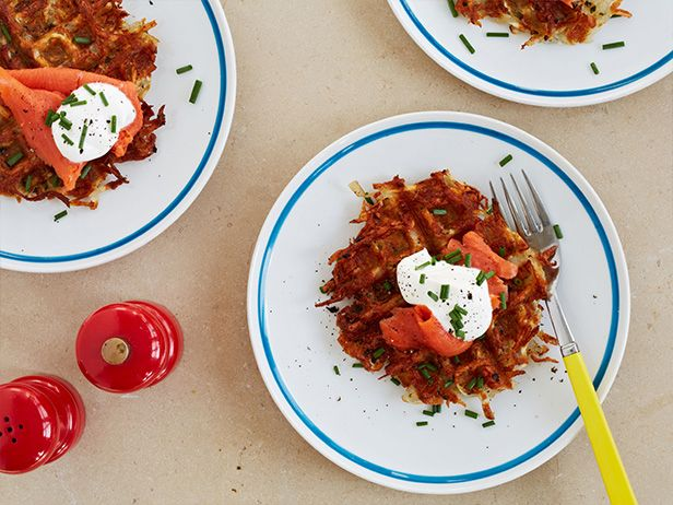Waffled Hash Browns Recipe : Food Network Kitchens : Food Network - FoodNetwork.com