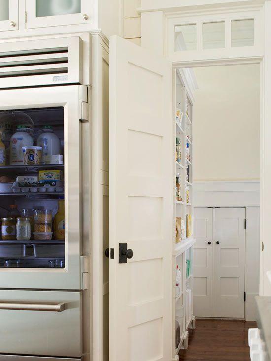walk-in pantry: The Doors, Functional Food, Kitchens Design, Food Storage, Panels Doors, Transom Window, Kitchens Pantries, Glasses Doors, Pantries Doors