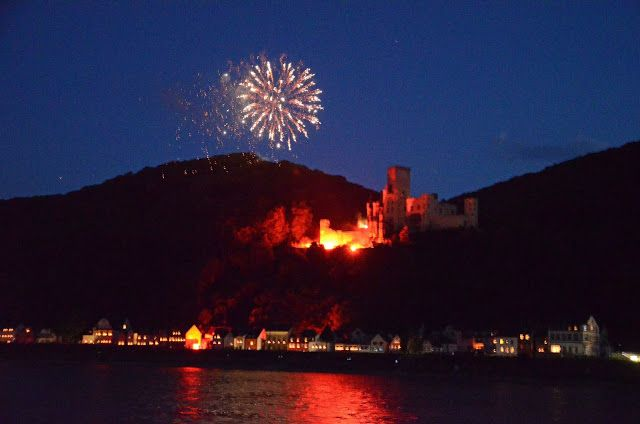Bacharach: Rhein In Flammen @ We Took the Road Less Traveled. (1:16 min)