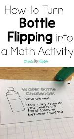 An engaging graphing activity for 3rd and fourth grade data management. We take water bottle flipping to the next level!