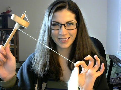 Basic Drop Spindle Tutorial - YouTube Best video for spinning