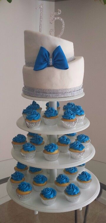 Quinceanera Cakes With Cupcakes 17 Best images about q...