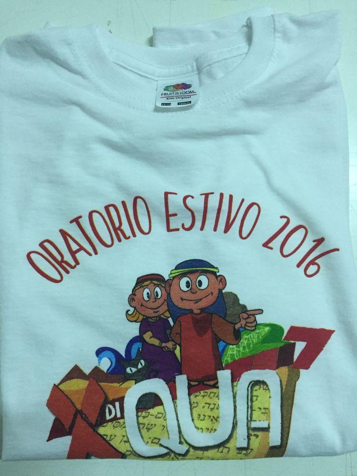 Personalizza la tua #tshirt #Fruitoftheloom con stampa Serigrafa in quadricromia