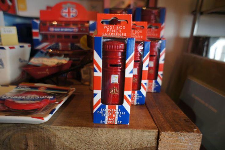 UK Post Box Pencil Sharpener