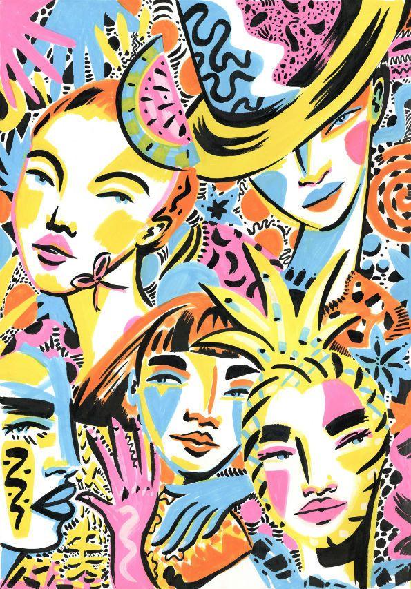 Lynnie Zulu #pintura