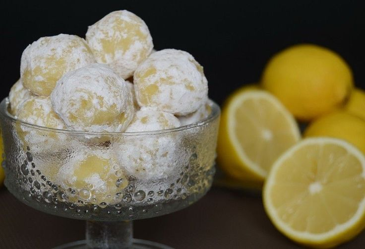 Citrónové lanýže s chutí vanilky