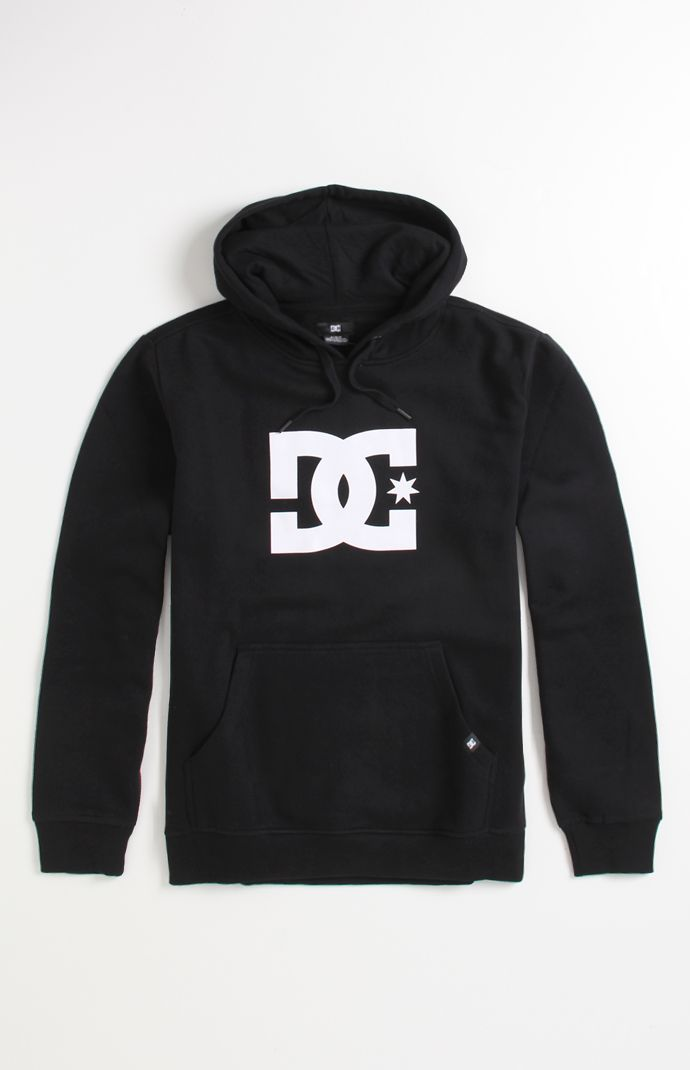 Mens Dc Shoes Hoodie - Dc Shoes Star PH1 Pullover Hoodie