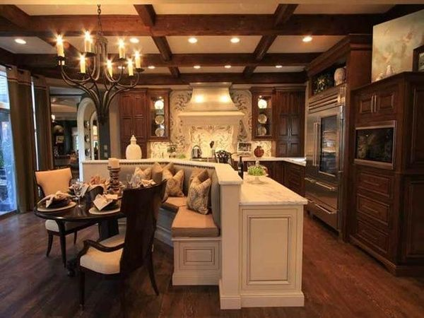 Romantic cottage kitchen dreamkitchen for the kitchen for Romantic kitchen designs