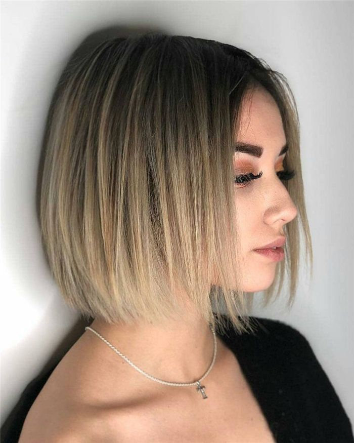 30 Hottest Short Bob Hairstyle Inspiration 2020 Flymeso Blog Short Bob Hairstyles Bob Hairstyles Medium Length Hair Styles