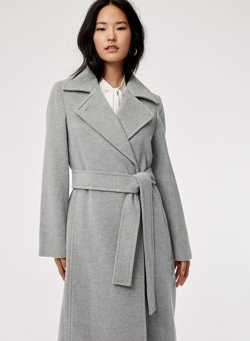 75c6ac882 ROBBIE WOOL COAT LONG | Aritzia | Profesh in 2019 | Wool coat, Coat ...