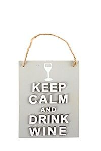 KEEP CALM WINE BAR SIGN
