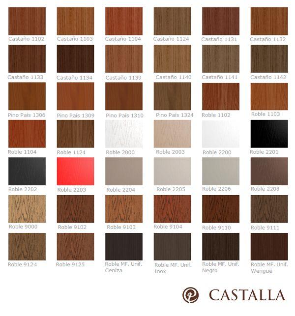 Hoy compartimos con vosotros nuestra amplia gama de tintes para madera.