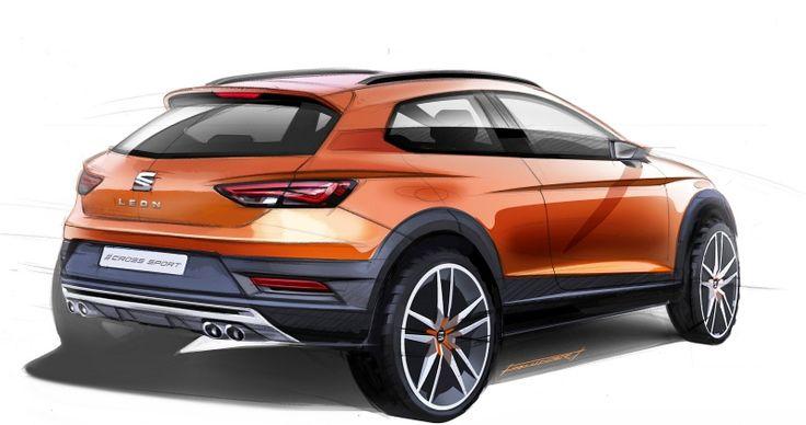 Seat Leon Cross Sport Concept Is The Love Child Of The Leon Cupra And Leon X-Perience