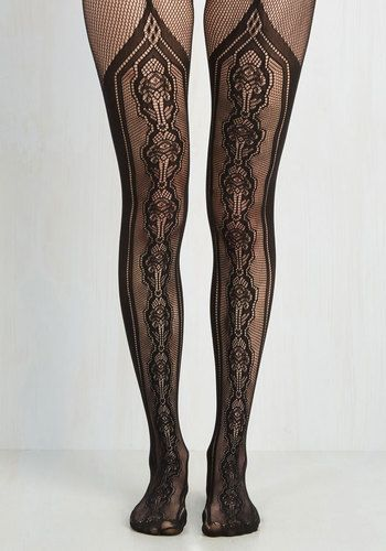 Steampunk stockings. Cheered to the Deco Tights $37.99 AT vintagedancer.com
