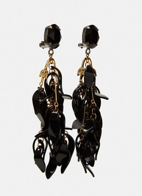 Petal Dangle Drop Earrings