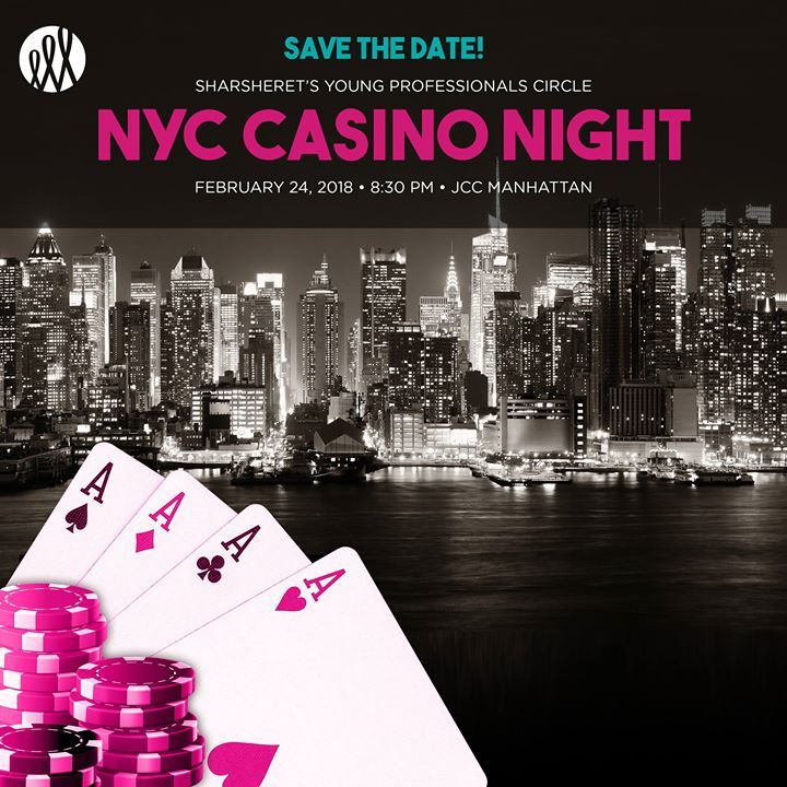 Save the date! Join us on Saturday night February 24th for Sharsheret's Young Professionals Circle Casino Night in NYC! If you would like to join the event committee please contact Sarah Eagle at seagle@sharsheret.org. Register for the event today here! http://ift.tt/2ldwfNs
