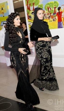Princess Ameerah Bint Aidan Bin Nayef Al Taweel Of Saudi Arabia L And
