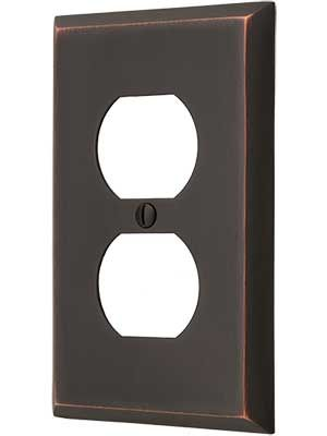 House of Antique Hardware Solid Forged Brass with oil rubbed bronze finish.
