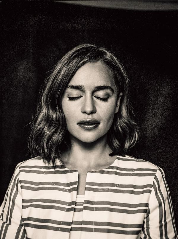 Emilia Clarke: ZEIT Magazine 2015