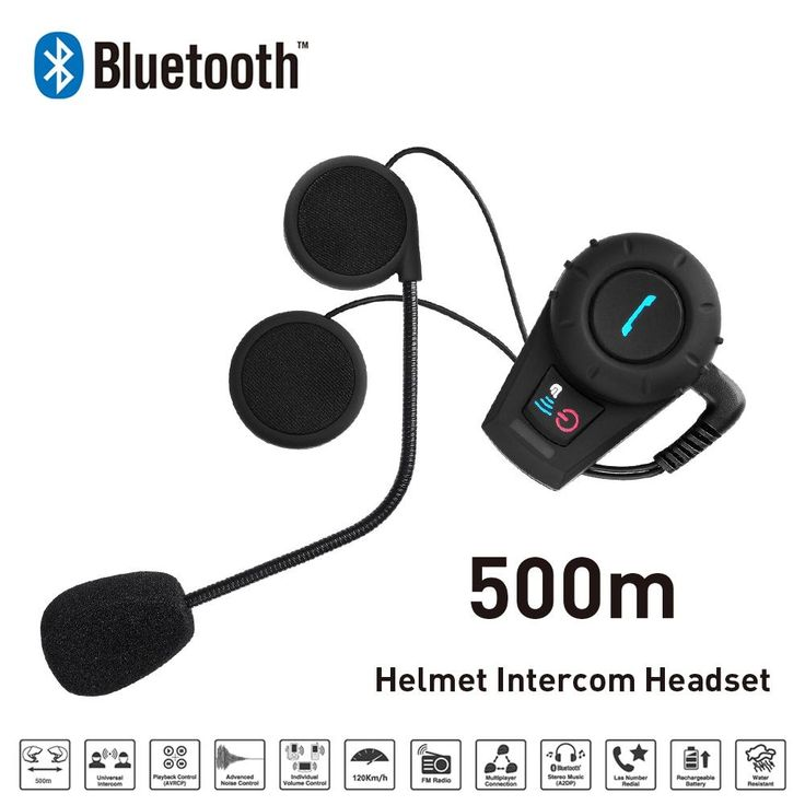 64.96$  Watch now - http://alijya.shopchina.info/1/go.php?t=32598319678 - New 500M Motorcycle BT Bluetooth Interphone Headset Helmet Intercom Intercomunicador with FM Radio for Phone/GPS/MP3 64.96$ #buychinaproducts