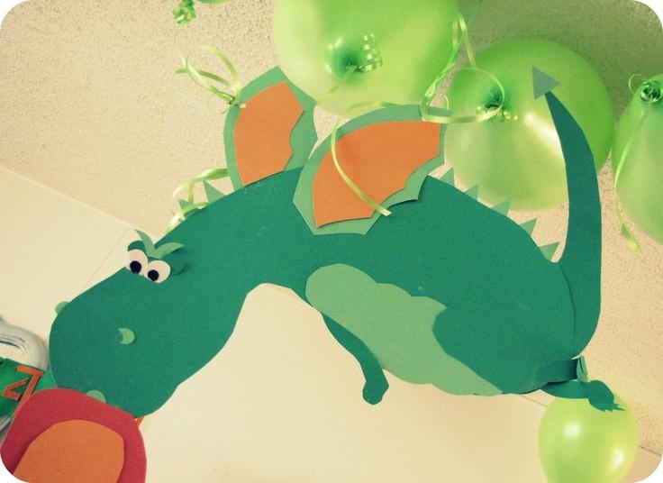 A Dragon Birthday Party Theme ♥