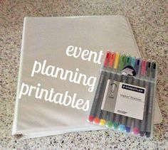 FREE Event Planning Printables!   Courtney Em