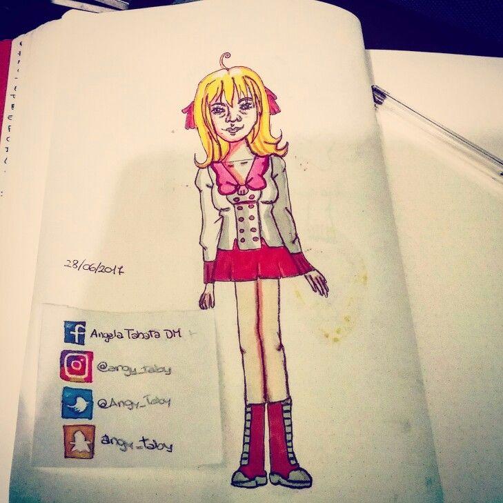 Luchia Nanami of Mermaid Melody #illustration #fanart #anime #manga #mermaidmelody #luchiananami