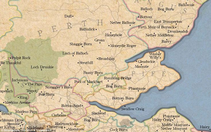 The Marvellous Map of Great British Place Names could be the perfect Christmas present sur...
