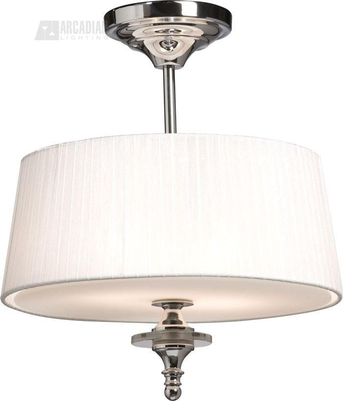Semi flush mount ceiling light. $150 South Shore Decorating: Artcraft Lighting Contemporary Semi Flush Mount Ceiling Light #lighting #transitional #ceilinglighting