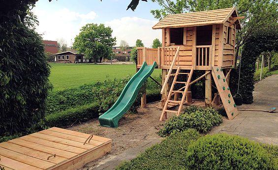 Boomhut Boris | het robuuste maatwerk speelhuis voor uw kids