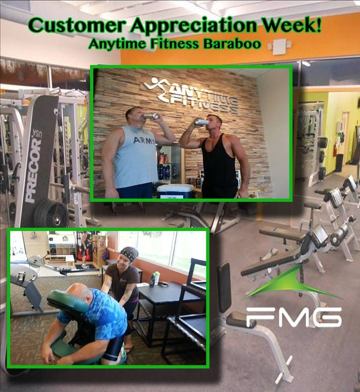 Fmg Loves Their Customers Anytime Fitness Customer Appreciation Baraboo