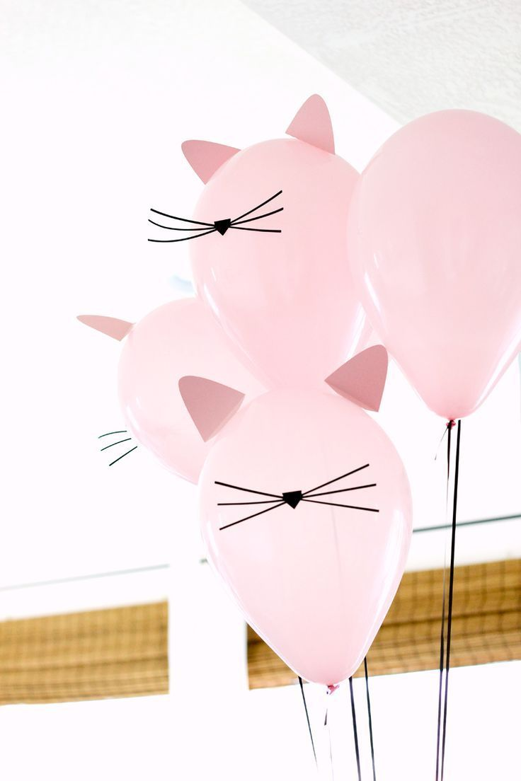 For a kitty cat party /