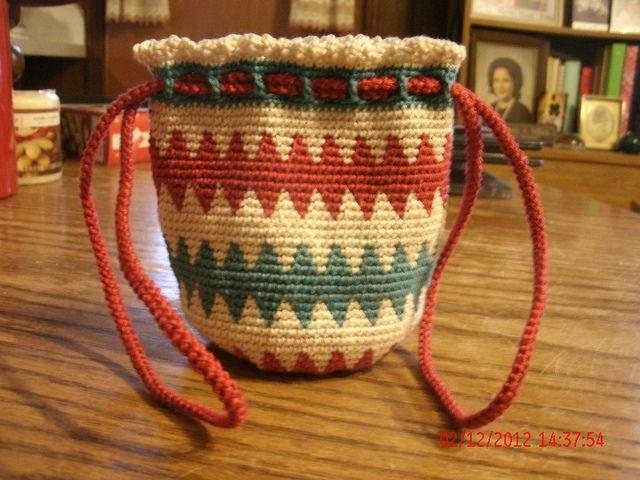 Tapestry Crochet Bag   Flickr - Photo Sharing!