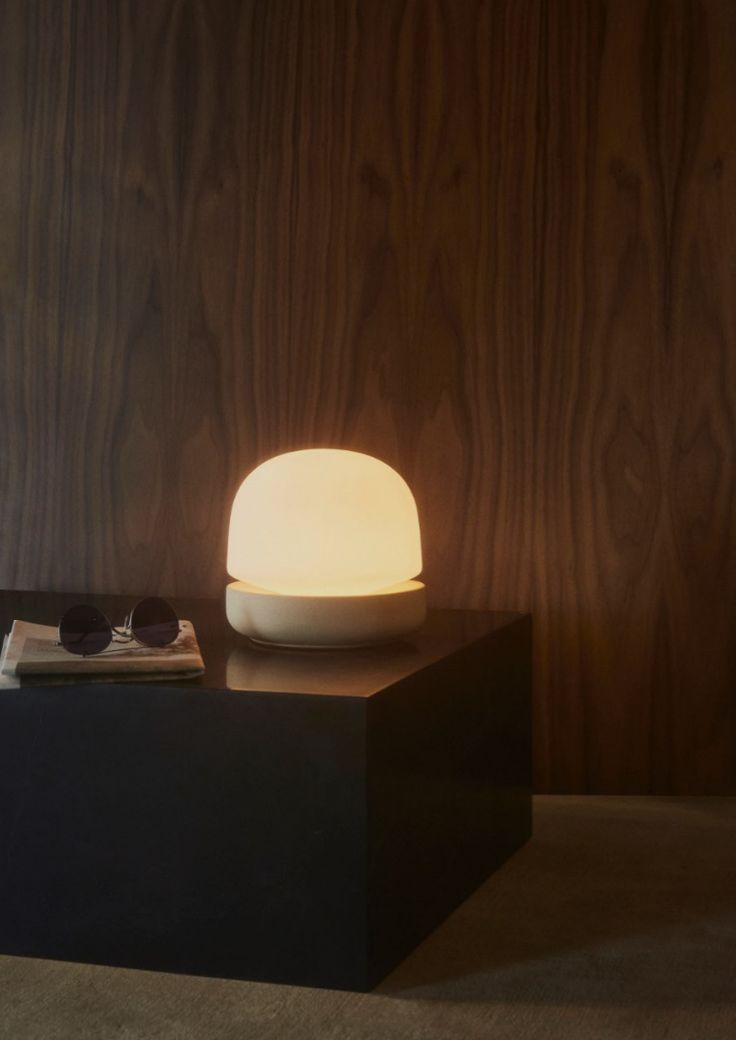 MENU | Stone Lamp by Norm Architects, Shot by Claus Troelsgaard