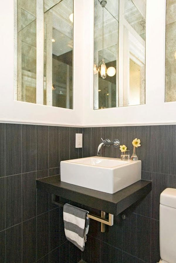 Small Rectangular Bathroom Sink New Rectangular Bathroom Tiny Sink In 2020 Small Bathroom Sinks Bathroom Sink Decor Rectangular Sink Bathroom