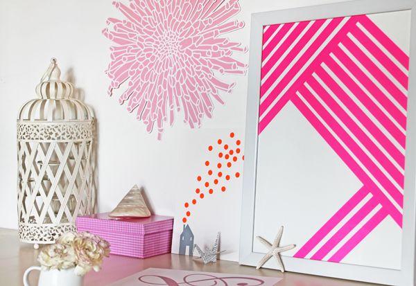 giochi di carta: Make your art DIY with washi tape