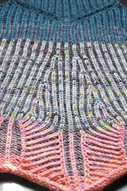 Ravelry: Brioche Ponchology pattern by Susanne Sommer