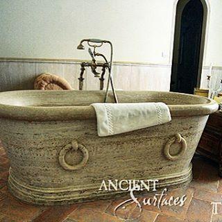 #bath #bathtub #stone# #tub #stonetub #limestone #marble #