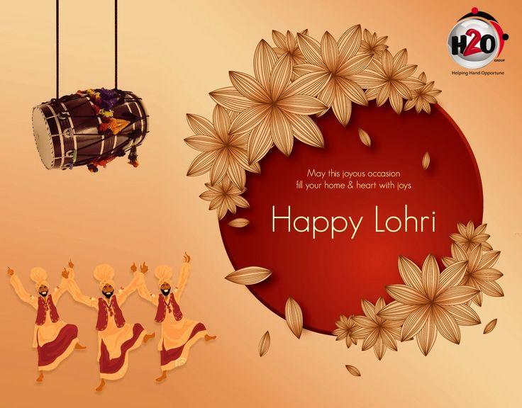 H2o Group Wishes You Happy Lohri !