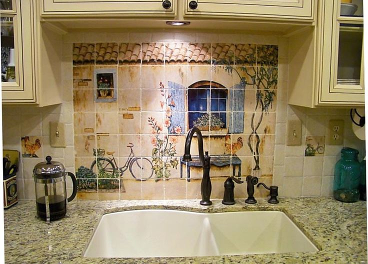 French Country Kitchen Backsplash 82 best kitchen decor images on pinterest | dream kitchens, home