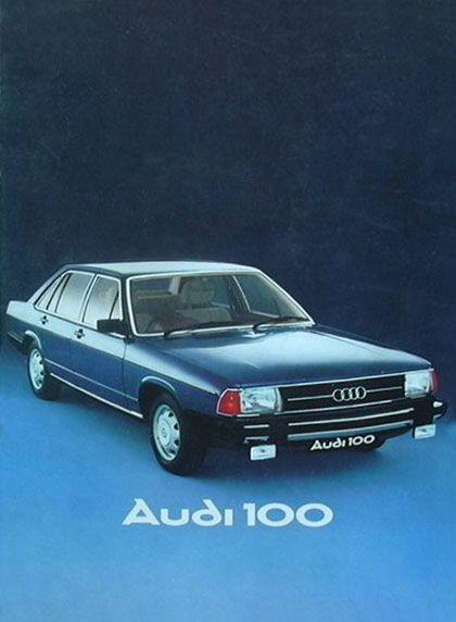 Audi 100 - Prospekt
