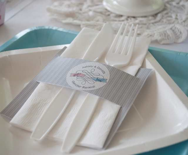 #DIY party ideas - Personalized Napkin Holders