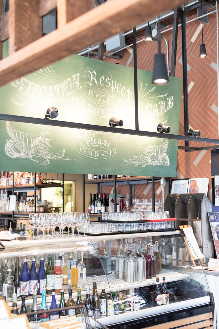 cute restaurant toronto, cafe belong evergreen brick works, rustic restaurant