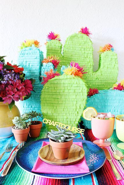 Cinco de Mayo / Piñata Party Inspiration by fabricpaperglue