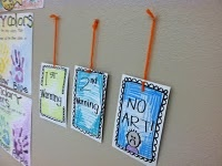 """Classroom Management Idea...flipping over the """"A-R-T"""" letters when the class is getting too loud...Art Classroom, Art Teachers, Classroom Tips, Class Management, Art Ideas, Art Room, Classroom Management, Drawing Attention, Classroom Ideas"""
