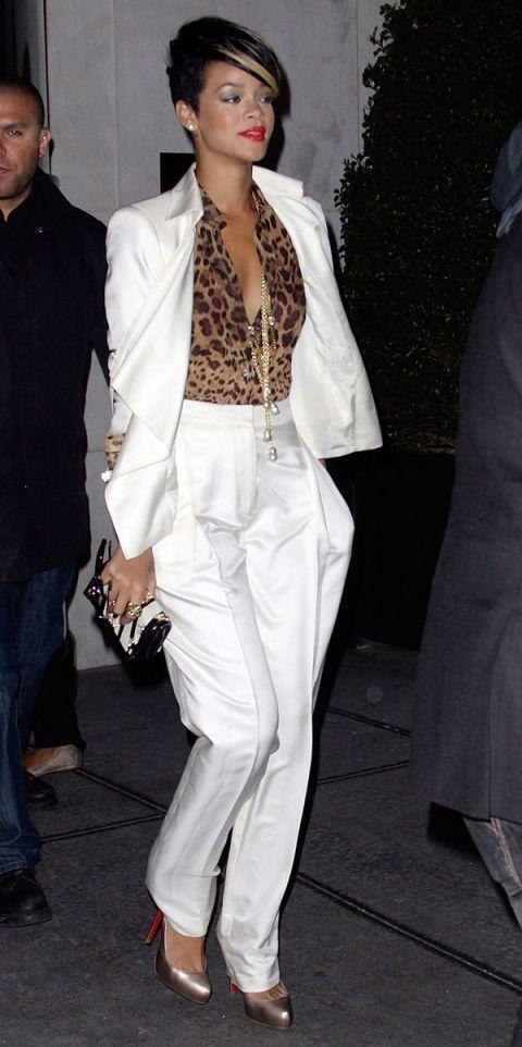 Click through to see Rihanna's fashion transformation.