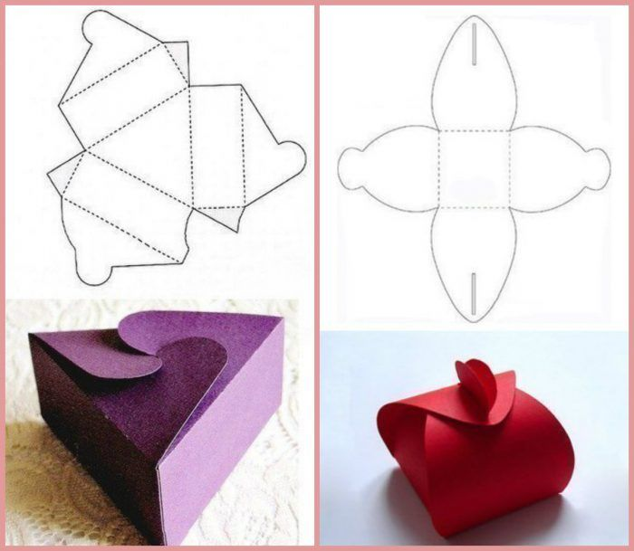 How To Make A Small Gift Box Paper Craft Small Gift Boxes Small